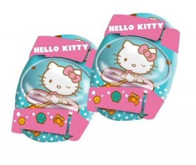 Set role cu genunchere si cotiere Hello Kitty imagine