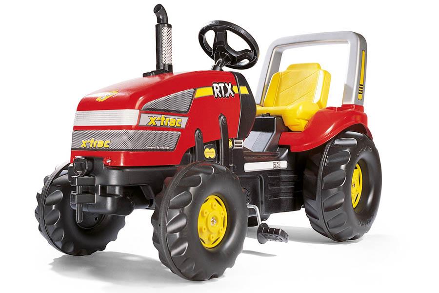 Tractor cu pedale copii Rolly Toys 035557 rosu imagine