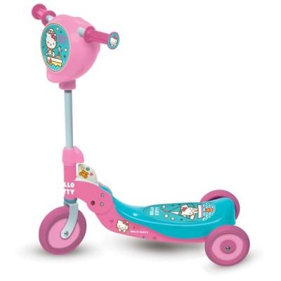 Trotineta copii 3 roti Hello Kitty pliabila din categoria La Plimbare de la Mondo