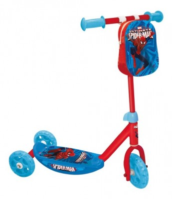 Trotineta copii 3 roti Spiderman din categoria La Plimbare de la Mondo