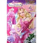 Carte de Povesti Barbie Printesa si Vedeta Pop