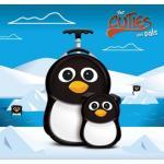 Ghiozdan si valiza Peko the Penguin