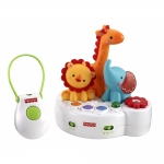 Proiector cu telecomanda 4in1 Rainforest Friends Fisher-Price
