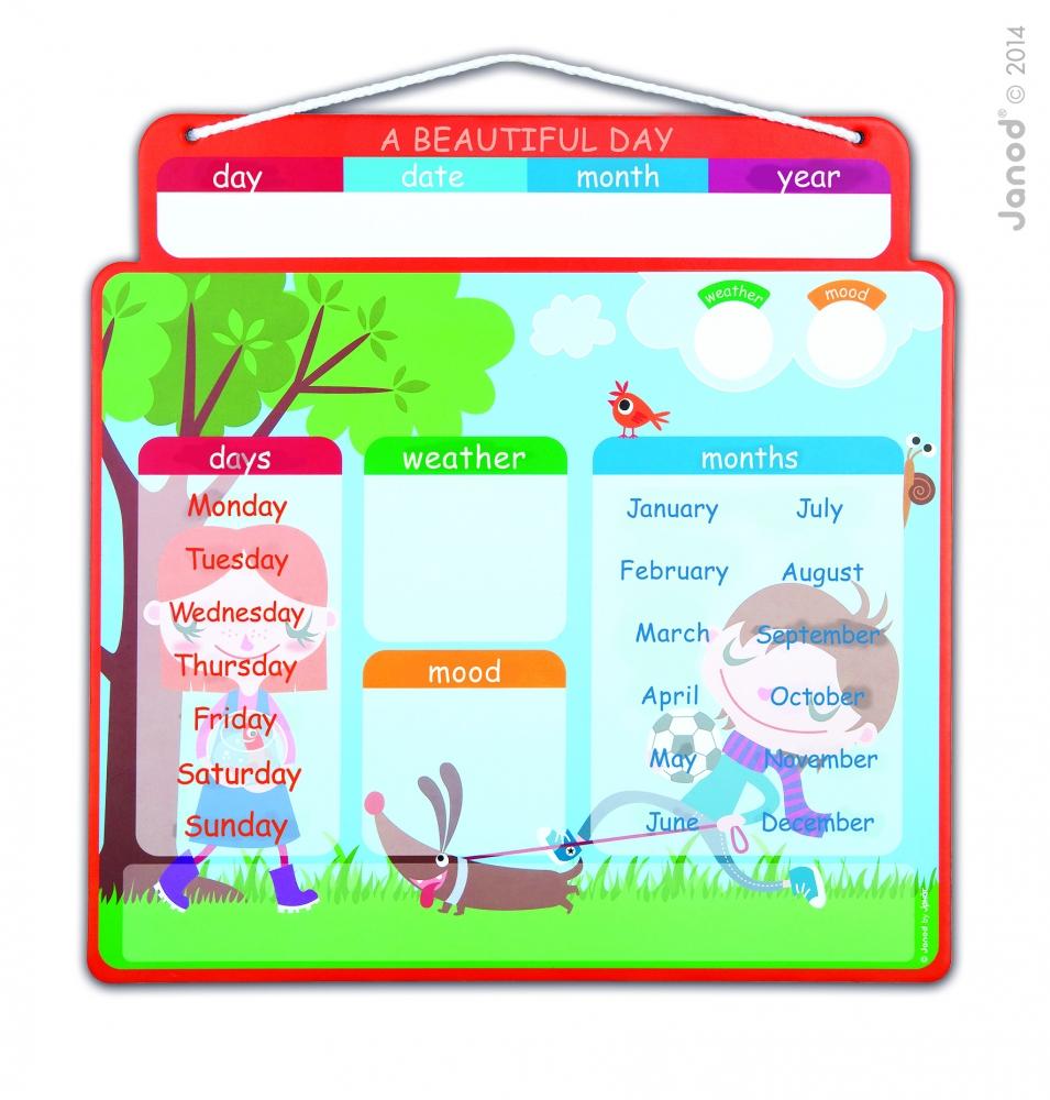 Agenda magnetica - O zi frumoasa