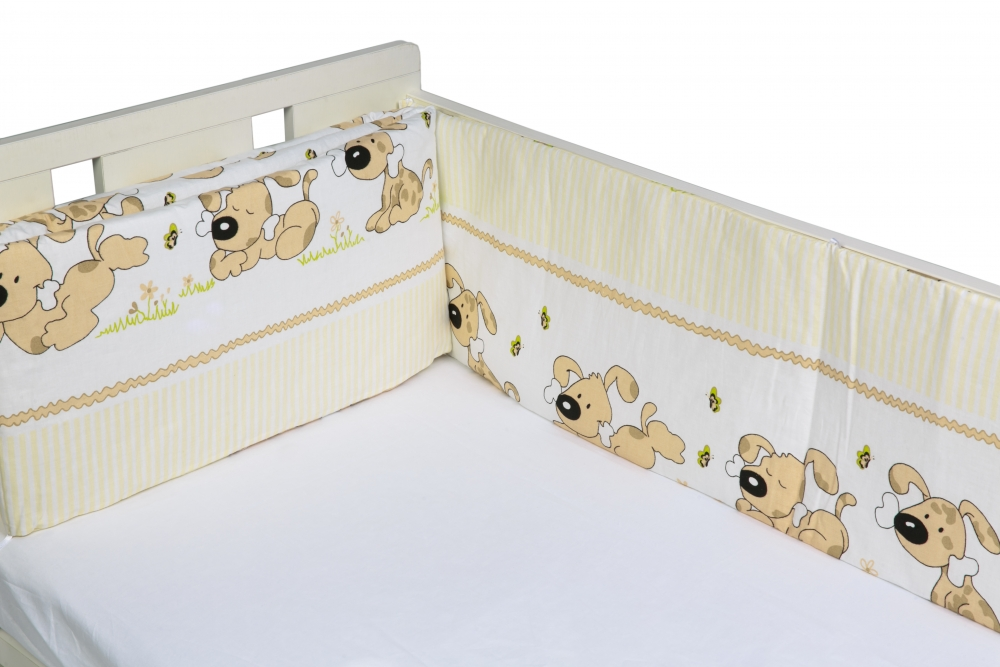 Aparatori laterale pentru pat Puppy Beige imagine