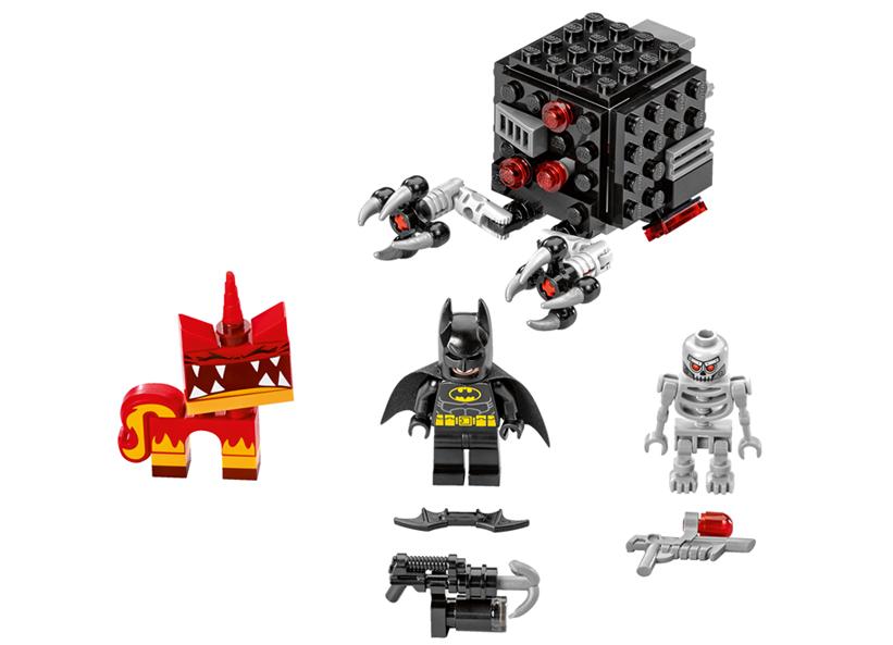 Atacul lui Batman si Super Angry Kitty (70817)