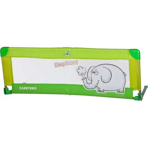 Bariera de protectie pentru pat Safari green