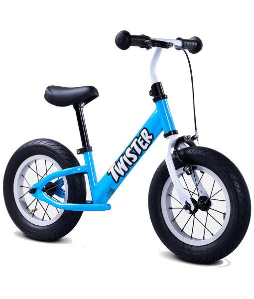 Bicicleta fara pedale Twister albastru