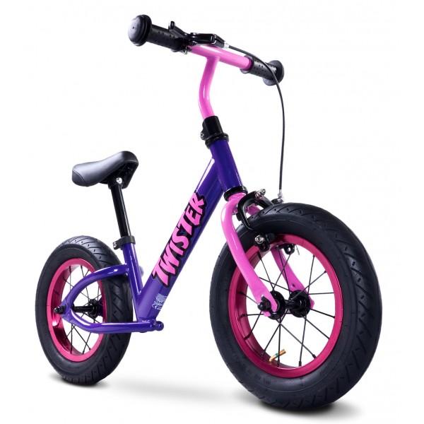 Bicicleta fara pedale Twister mov