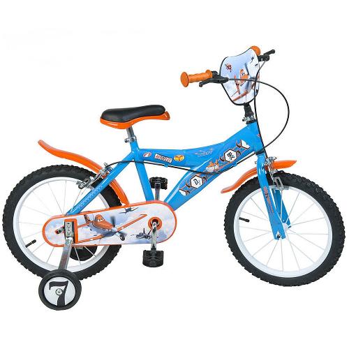 Bicicleta pentru copii Disney Planes 16 inch