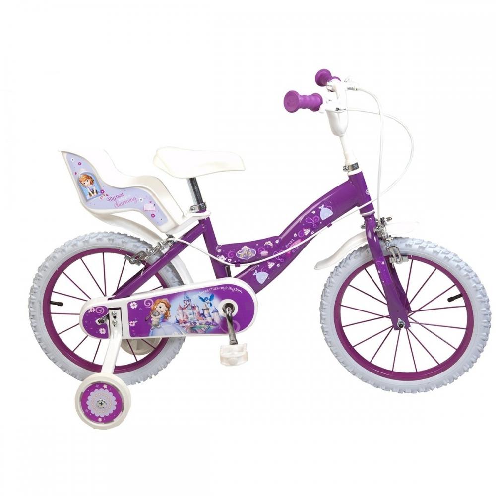Bicicleta pentru fetite Sofia the First 16 inch