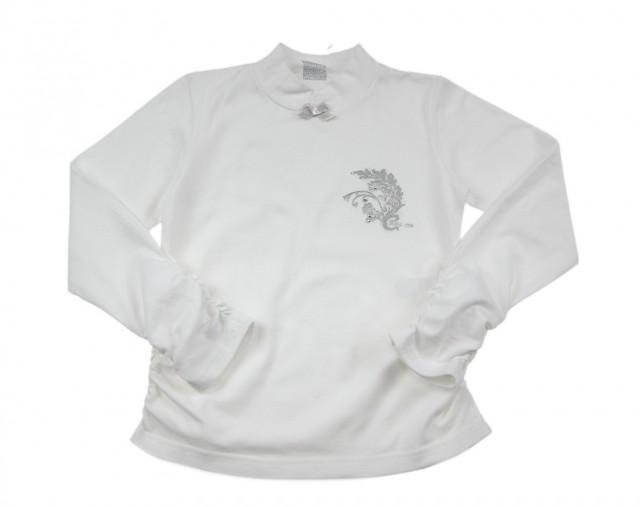 Bluza alba fetite masuri 2 ani, 4 ani si 6 ani (MASURA 92 (1.5-2 ani))