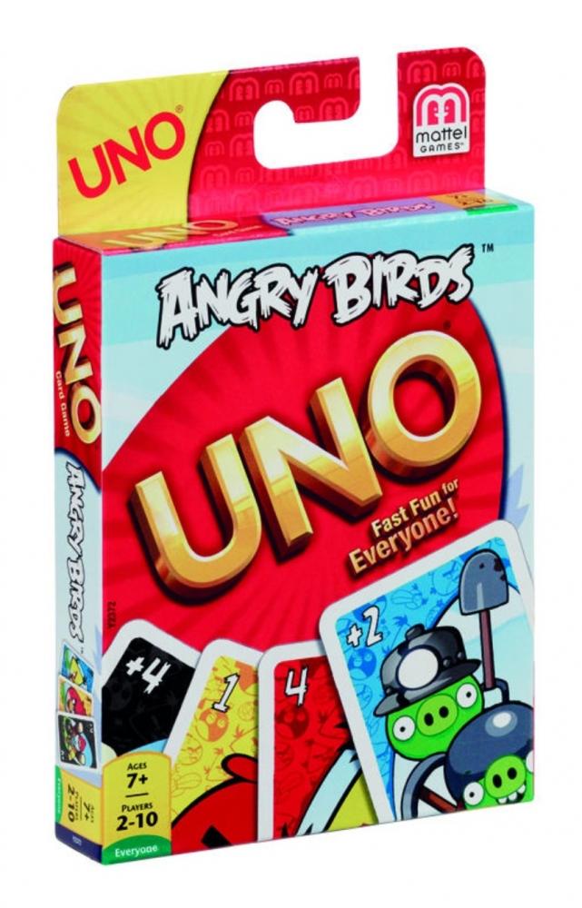 Carti joc - Uno Angry Birds