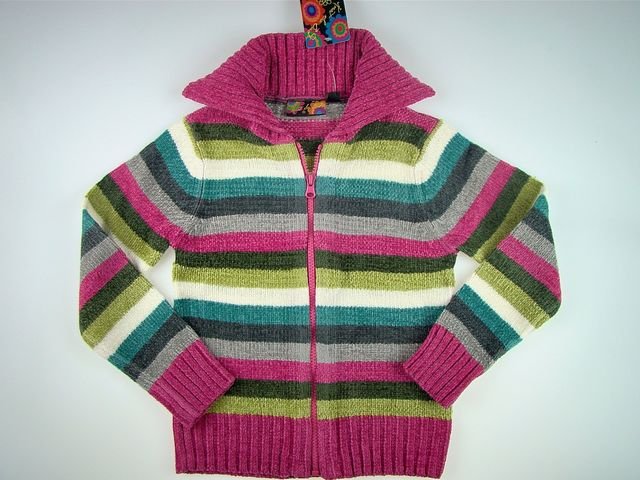 Cardigan fetite Colours (Masura 98 (2-3 ani))