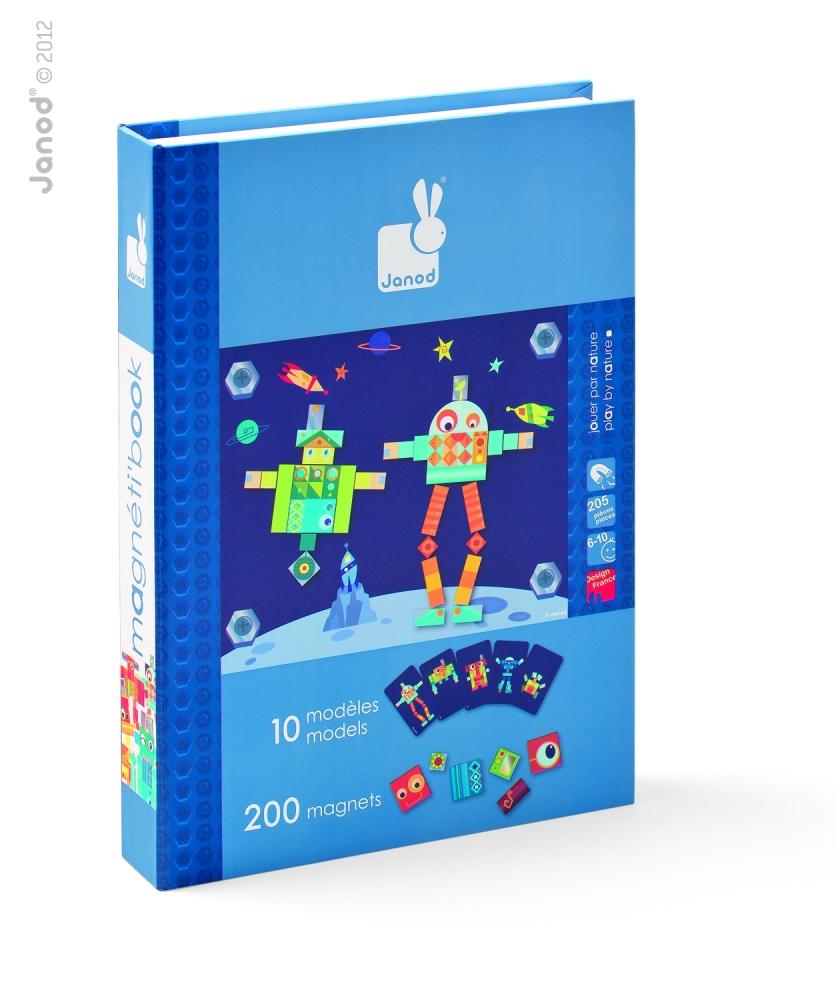 Carte Magnetica Mozaic Maxi - Roboti