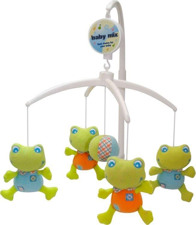 Carusel muzical Broscute din categoria Camera copilului de la BABY MIX