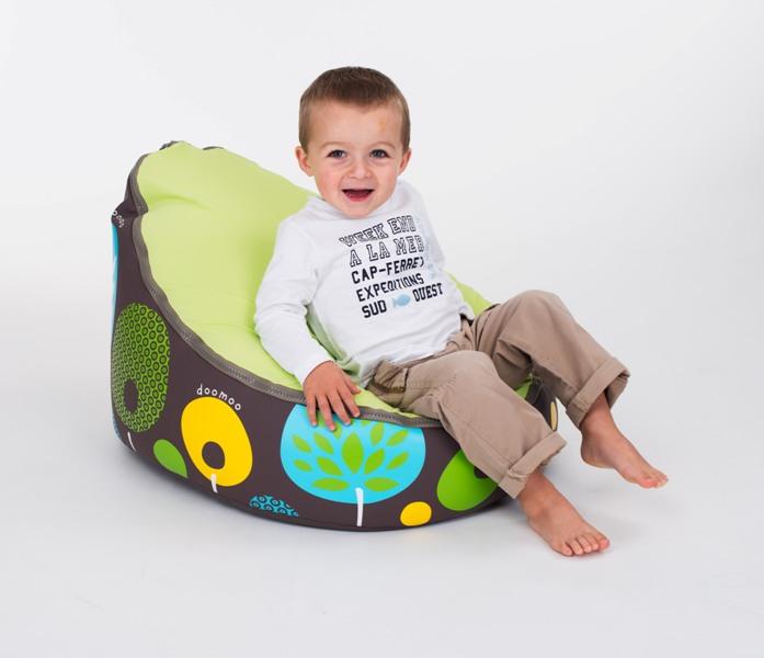 Fotoliu adaptabil pentru copii TREE LEMON