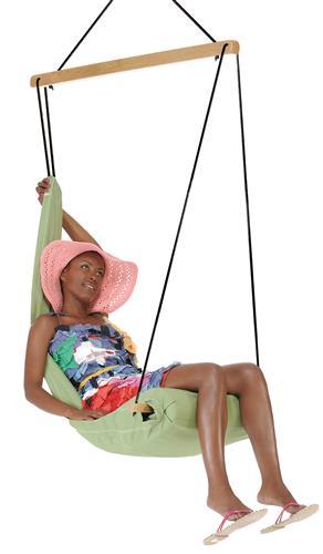 Hamac scaun Hangover green