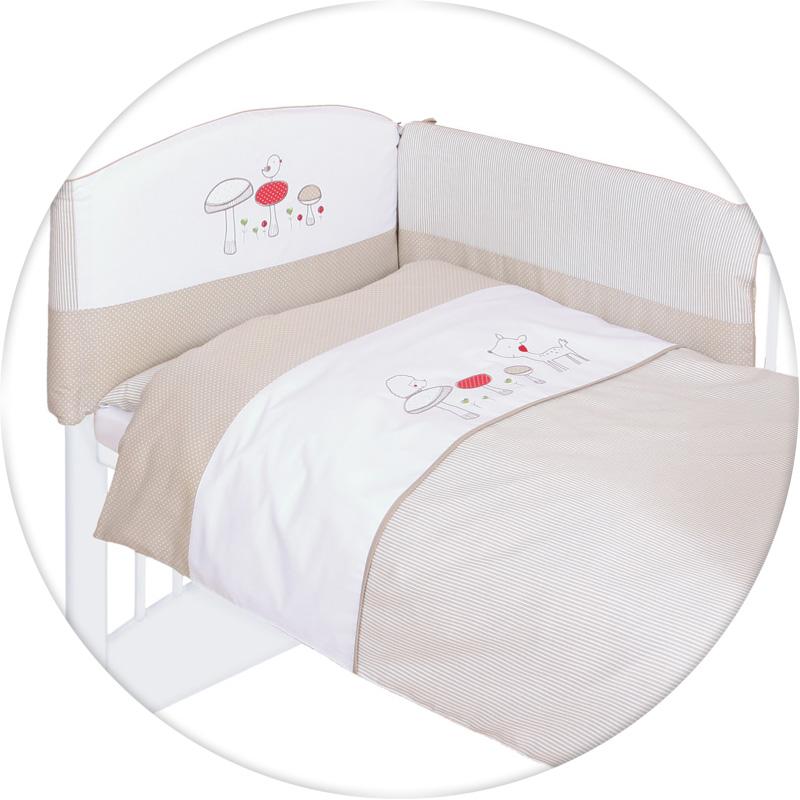 Lenjerie de pat cu 3 piese Padurea Magica