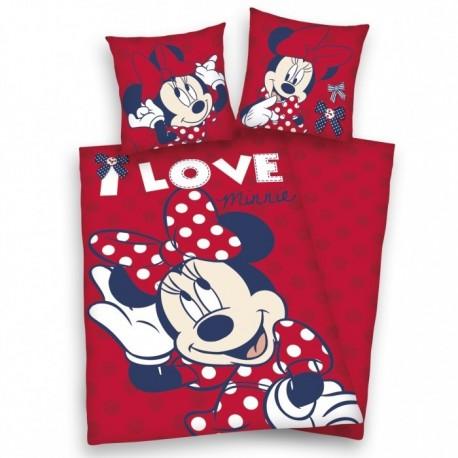 Lenjerie de pat pentru copii Minnie Mouse Style