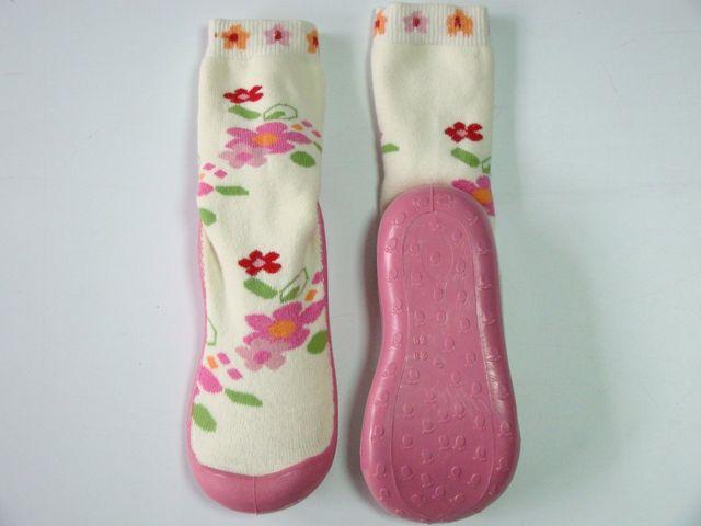 Mocasini Pink Flower (Masura 2829)