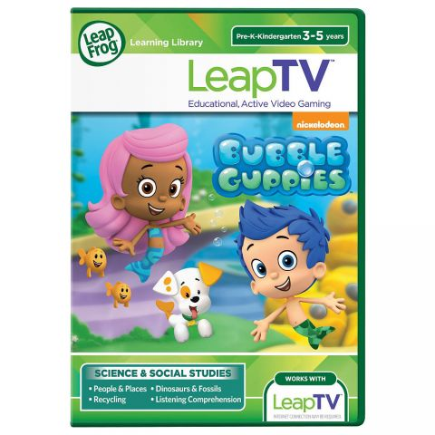 LeapTV Joc Bubble Guppies