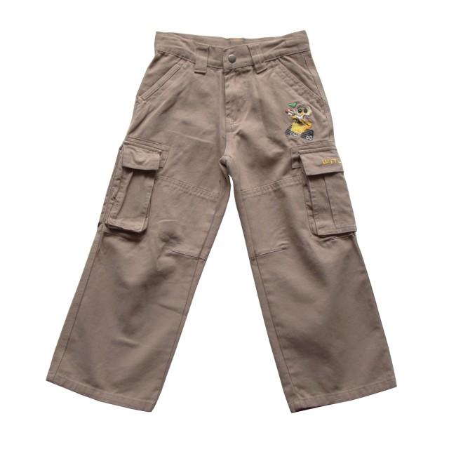 Pantaloni baieti Robotelul WALL-E masuri 5 ani si 6 ani, bumbac (MASURA 110 (4-5 ani))