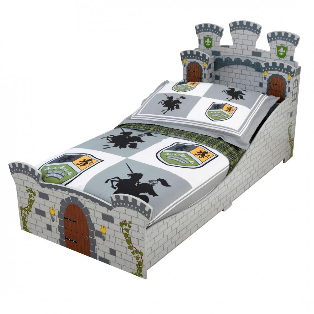 Pat pentru baieti Kidkraft Medieval Castle