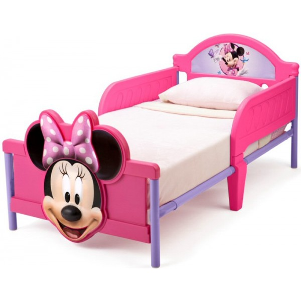 Pat cu cadru metalic Disney Minnie Mouse 3D