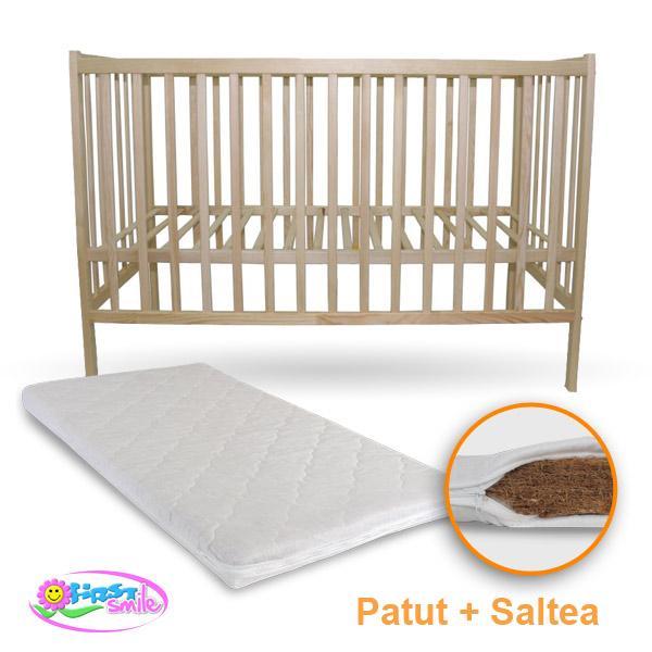 Patut IZI + Saltea Bio - First Smile