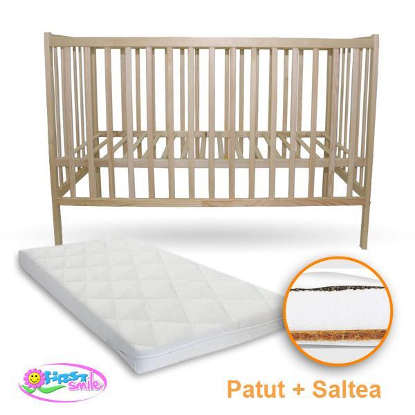 Patut IZI + Saltea Coco - First Smile