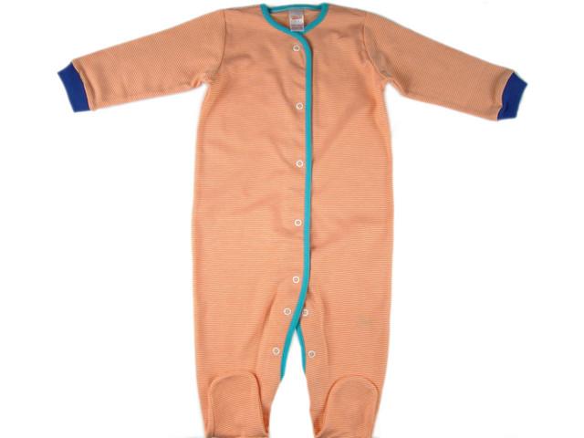 Pijama bebelus Orange (Masura 68 (3-6 luni))