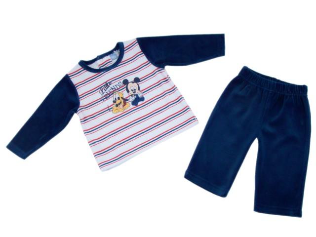 Pijamale copii Mickey  Pluto (Masura 68 (3-6 luni))
