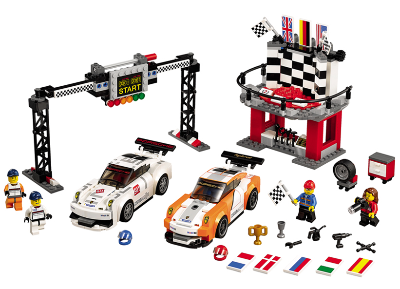 Porsche 911 GT la linia de finis (75912)