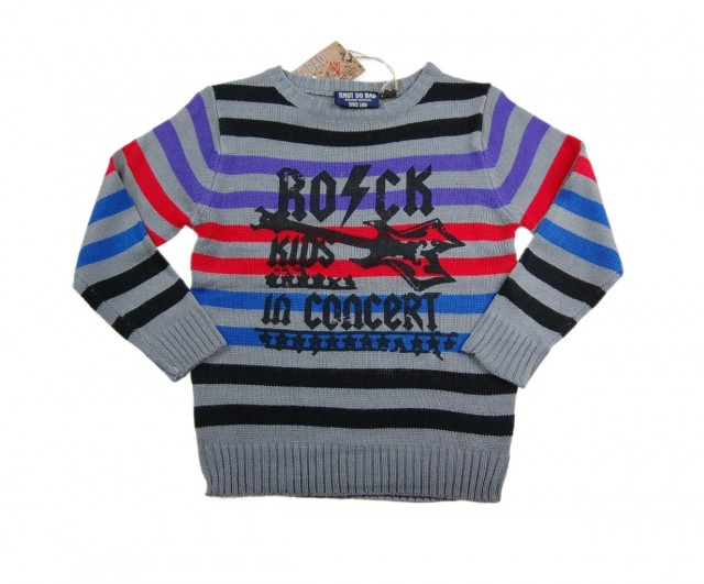 Pulover baieti ROCK KIDS (MASURA 104 (3-4 ani))