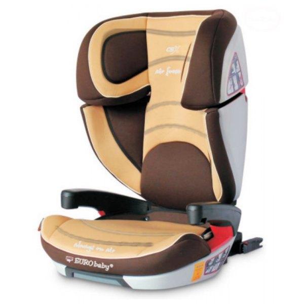 Scaun Auto Eurobaby Csx Isofix - 15 - 36 Kg - Maro