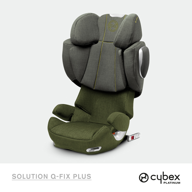 Scaun auto Solution Q FIX Plus Isofix