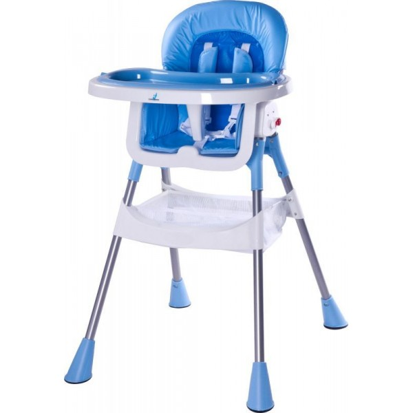 Scaun de masa Caretero Pop blue