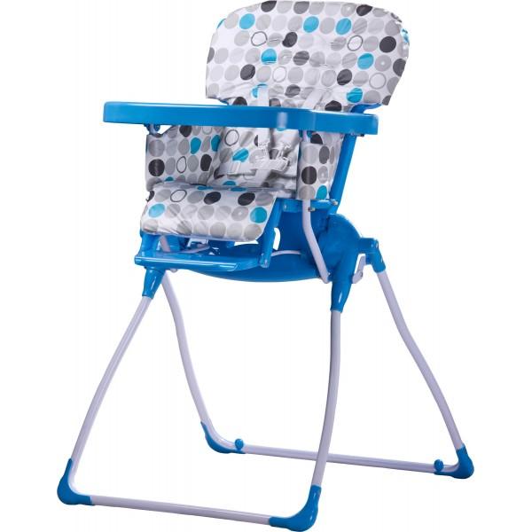 Scaun de masa Caretero Practico blue