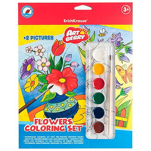 Set creativ- Sa pictam florile