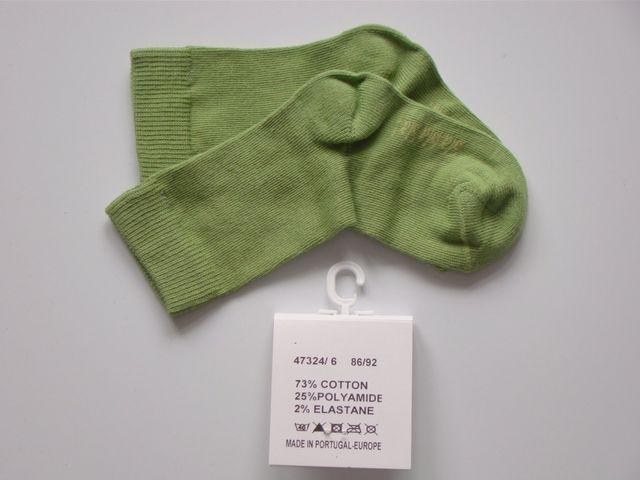 Sosete bebelusi culoare verde (Masura 6268 (36 luni))