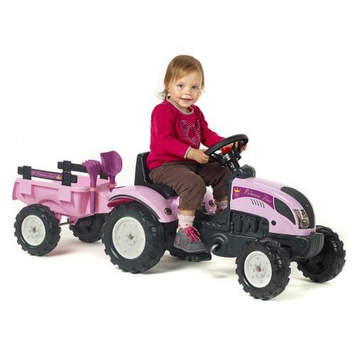 Tractor Princess cu Remorca