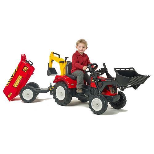Tractor Ranch cu Cupa, Remorca si Excavator