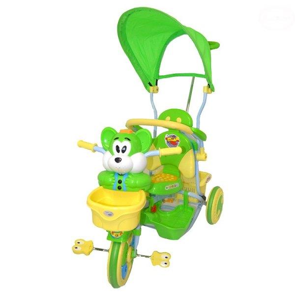 Tricicleta EuroBaby 2830AC Verde