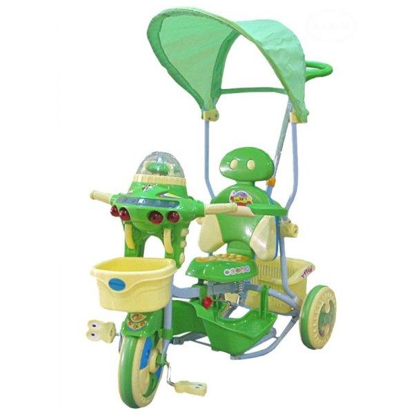 Tricicleta EuroBaby 2890AC - Verde