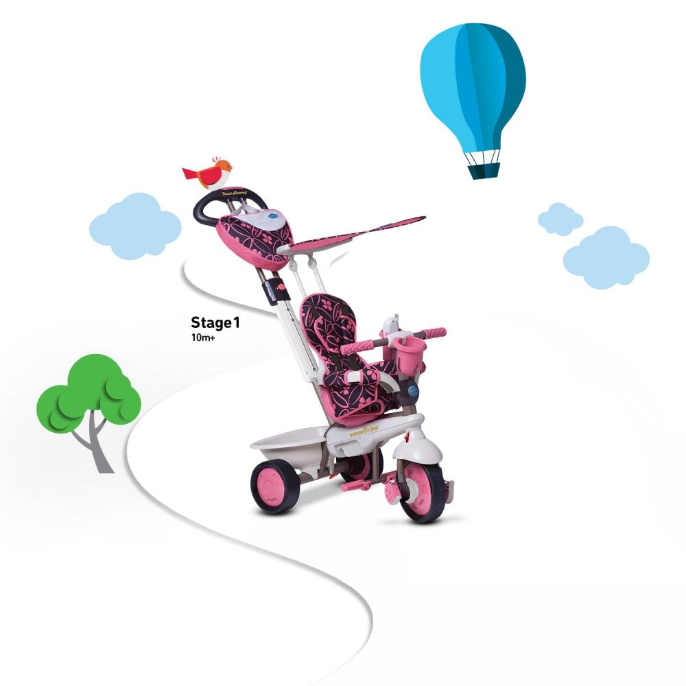 Tricicleta Smart Trike Dream 4 in 1 Pink