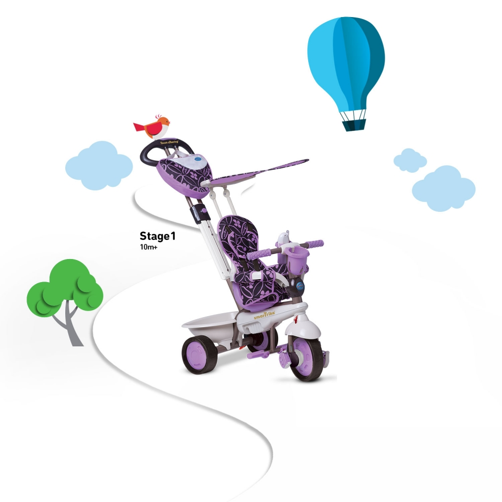 Tricicleta Smart Trike Dream 4 in 1 Purple