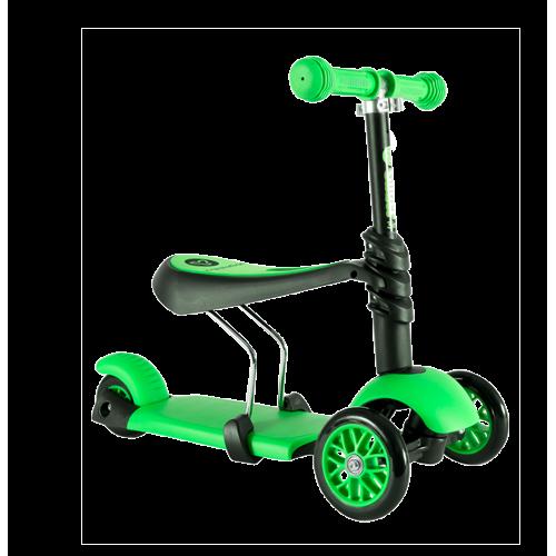Trotineta Y Glider 3 In 1 Green