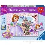 Puzzle Printesa Sofia 2x24 Piese