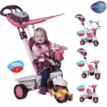 Tricicleta Smart Trike Dream 4 in 1 Pink